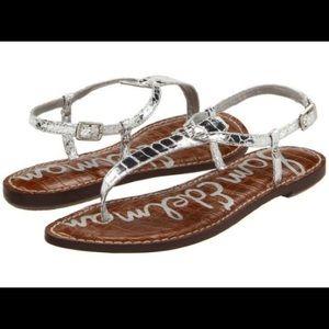 Sam Edelman Gigi sandal (Boa, silver)